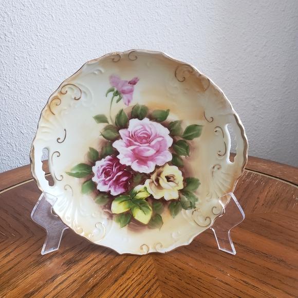 Vintage Enesko porcelain plate Japan